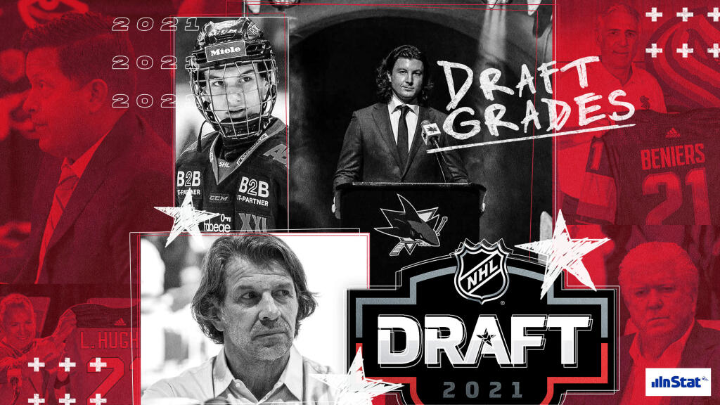 Grades for every team's performance at the 2021 NHL Entry Draft