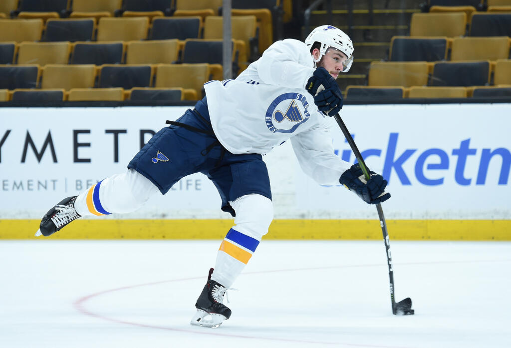 St. Louis Blues' Sammy Blais suspended two games for illegal check