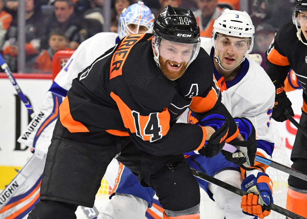 Philadelphia Flyers forward Sean Couturier to miss two weeks