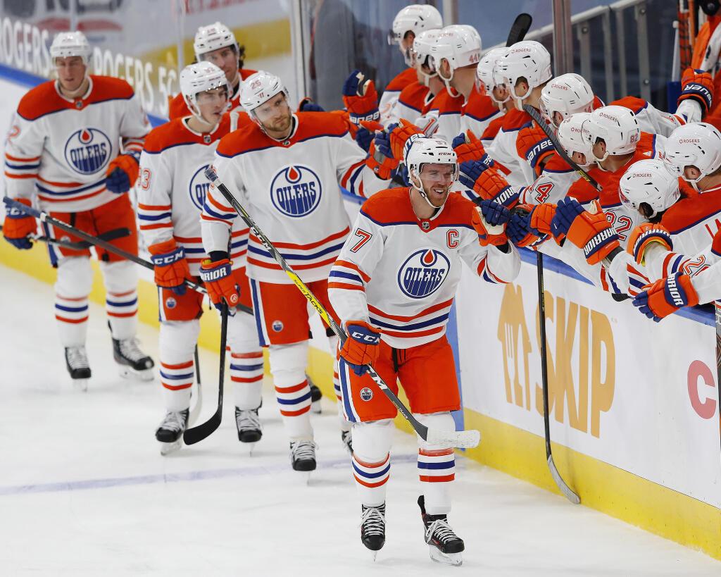 NHL 3 Stars: Connor McDavid.