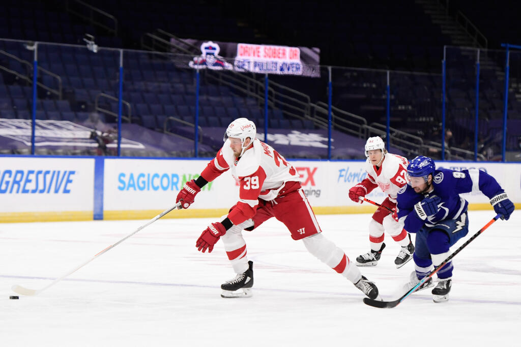 Washington Capitals acquire Anthony Mantha from Detroit Red Wings for Jakub Vrana-plus in blockbuster deal