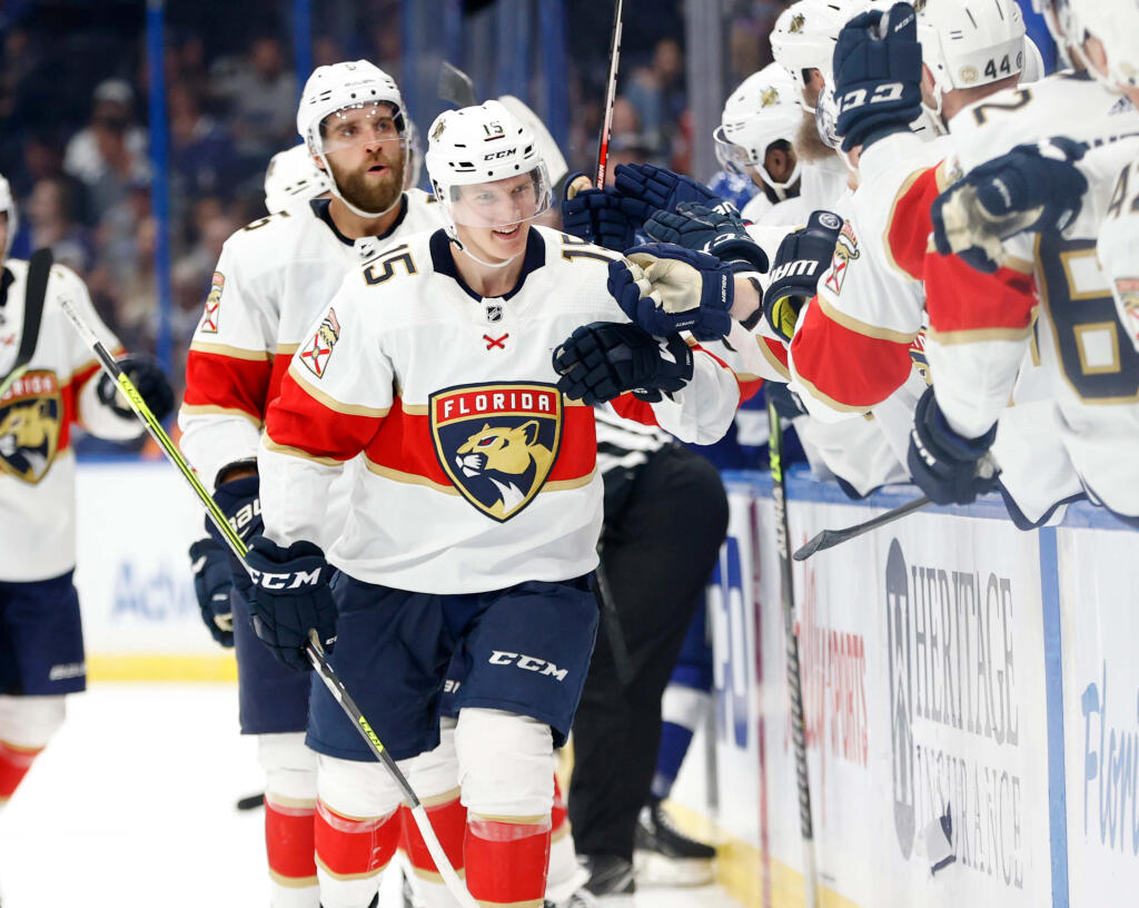 How Anton Lundell has helped the Panthers' hot start to the season