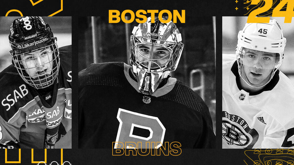 EP Rinkside 2021-22 Prospect Pool Rankings: No. 24-ranked Boston Bruins