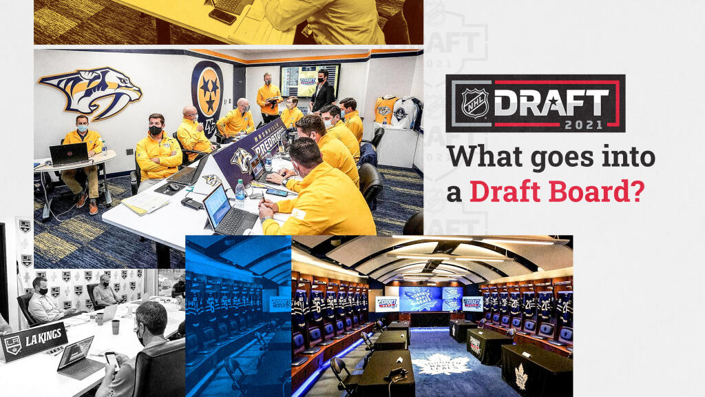 """""""We're constantly learning and changing our process"""": Scouts and front office executives dish on creating an NHL draft board"""
