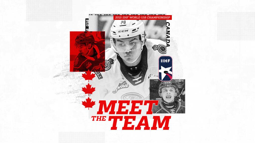 Meet the Team: Canada's Under-18 World Hockey Championship roster