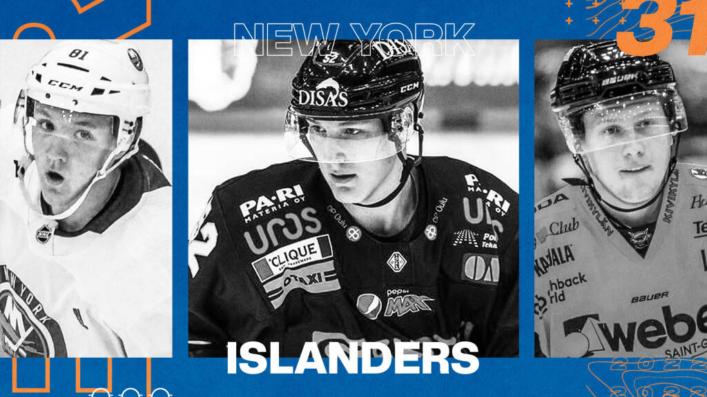 EP Rinkside 2021-22 Prospect Pool Rankings: No. 31-ranked New York Islanders