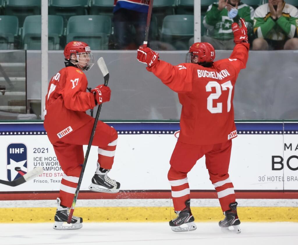 Matvei Michkov turning heads at the 2021 IIHF Under-18 World Junior Championship