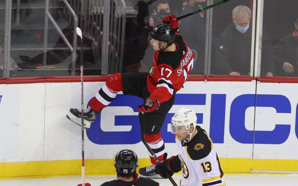 NHL 3 Stars: Yegor Sharangovich's last second goal lifts New Jersey Devils over Boston Bruins
