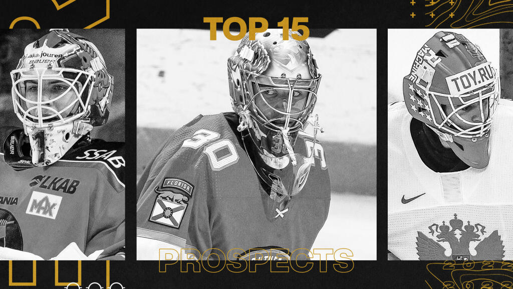 Ranking the NHL's top 15 affiliated goalie prospects
