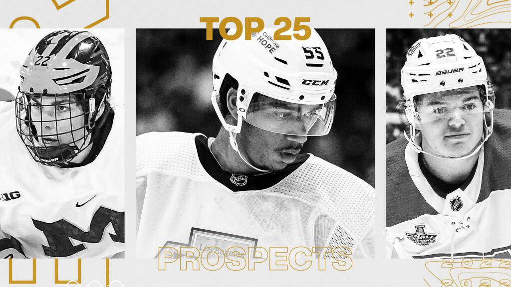 Ranking the NHL's top 100 affiliated prospects in 2021: Skaters 25-1