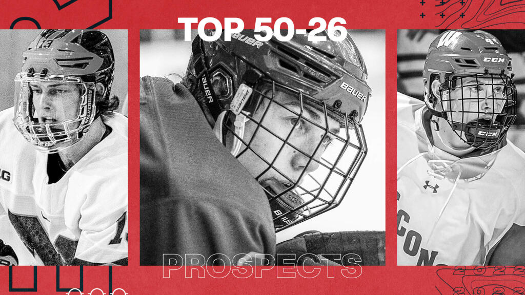 Ranking the NHL's top 100 affiliated prospects in 2021: Skaters 50-26