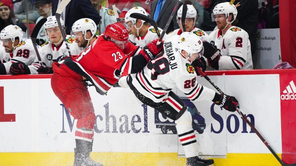 "AHL WEEKEND: Jokiharju joins IceHogs, needs to ""play to excel, not just survive"""
