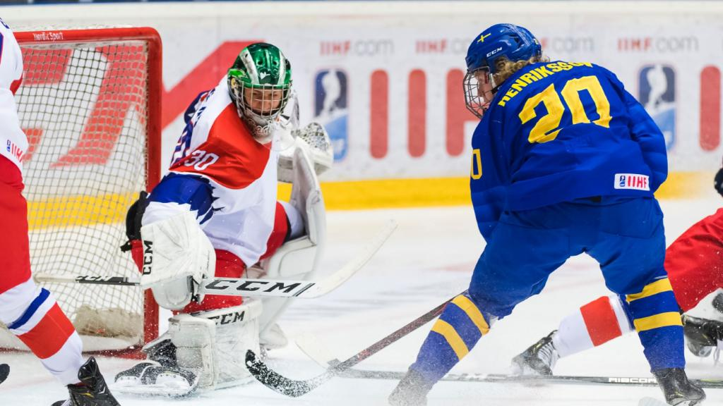 For Sweden's U18 top scorer, hockey wasn't the obvious choice
