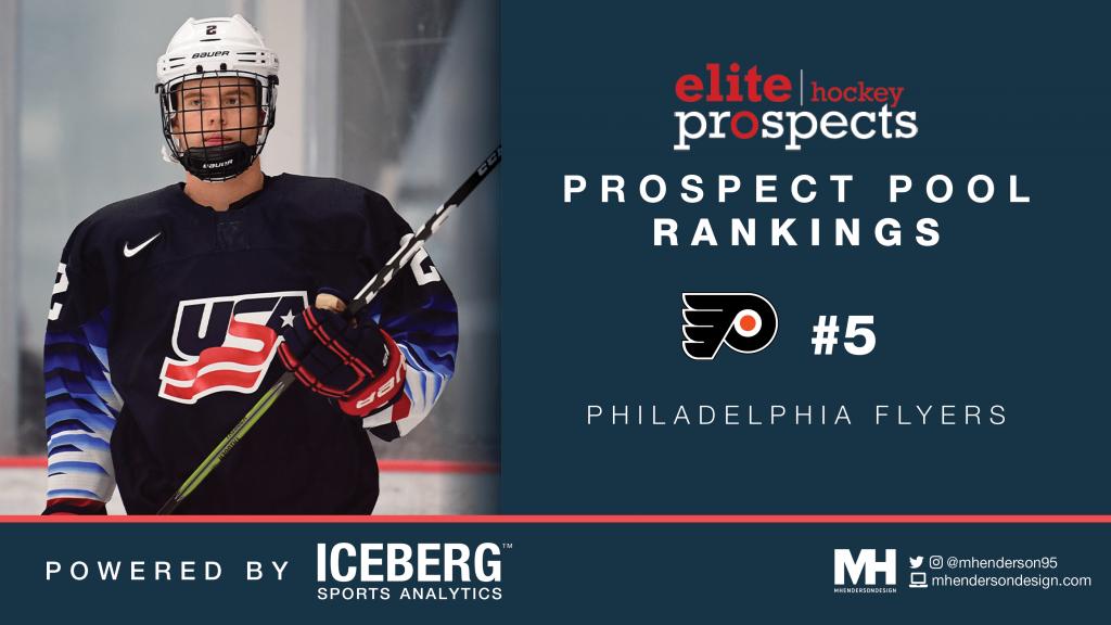 EP Rinkside Prospect Pool Rankings: No. 5 Ranked Philadelphia Flyers