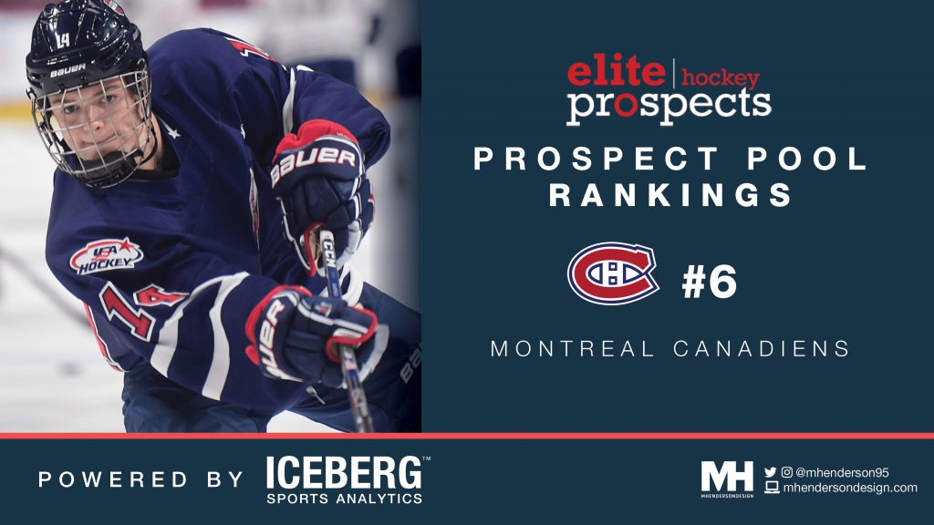 EP Rinkside Prospect Pool Rankings: No. 6 Ranked Montréal Canadiens