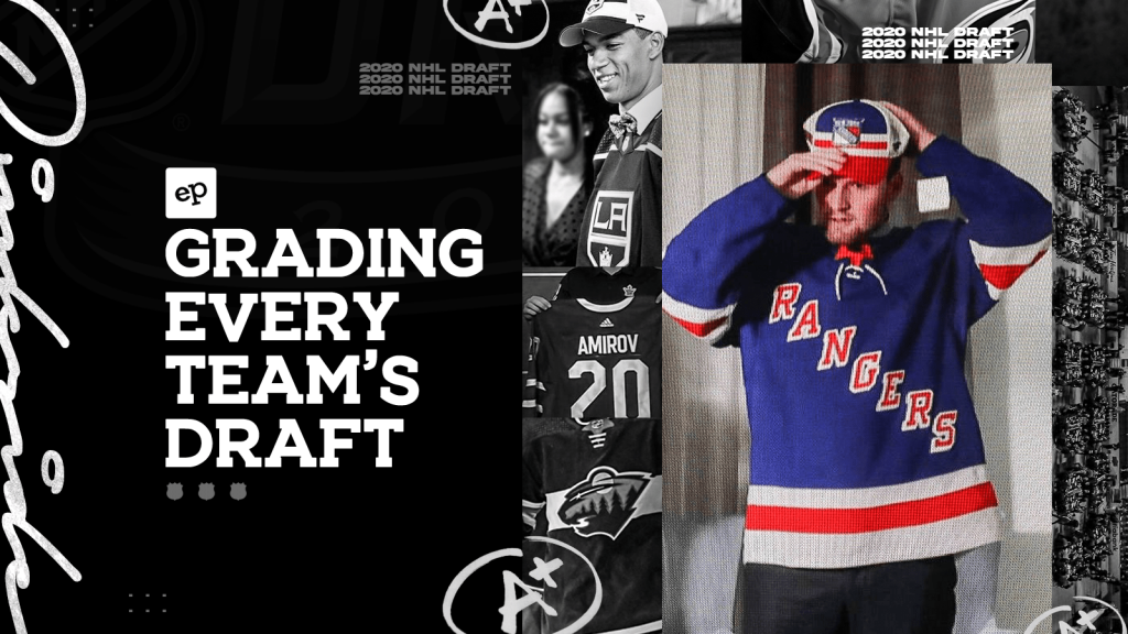 Grading Every Team's Performance at the 2020 NHL Entry Draft