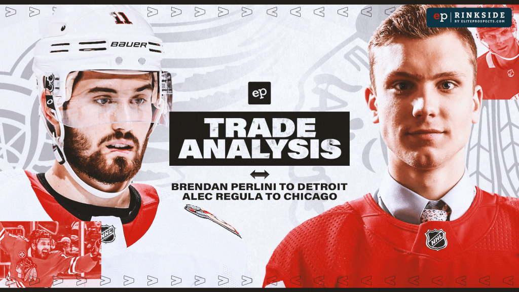 Trade Analysis: Chicago Blackhawks Send Brendan Perlini to the Detroit Red Wings for Alec Regula