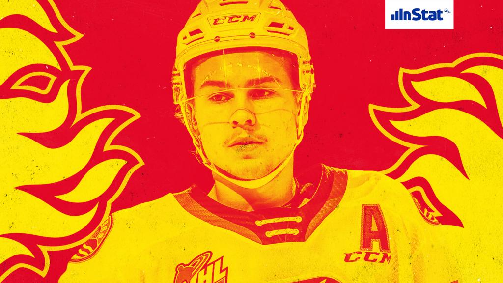 The EliteProspects Rinkside 2020-21 Off-Season Prospect Pool Rankings: the No. 26-ranked Calgary Flames