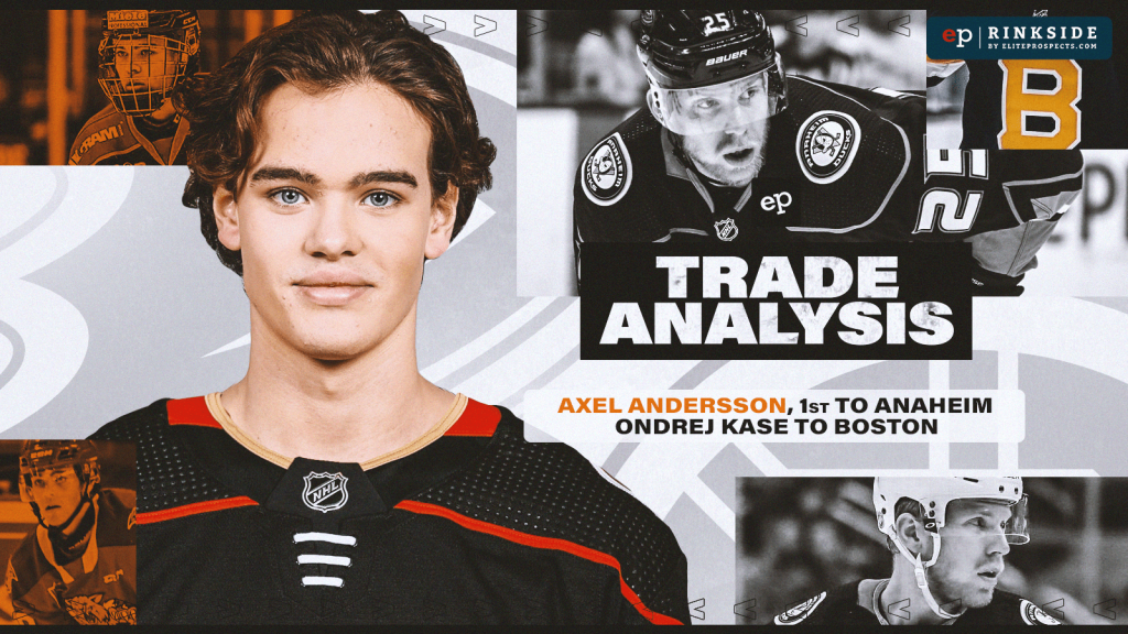 Trade Analysis: What are the Anaheim Ducks Getting in Prospect Rearguard Axel Andersson?