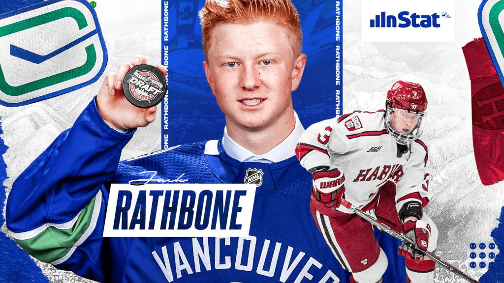 Jack Rathbone is Going to be a Top-4 Staple in the Vancouver Canucks Lineup