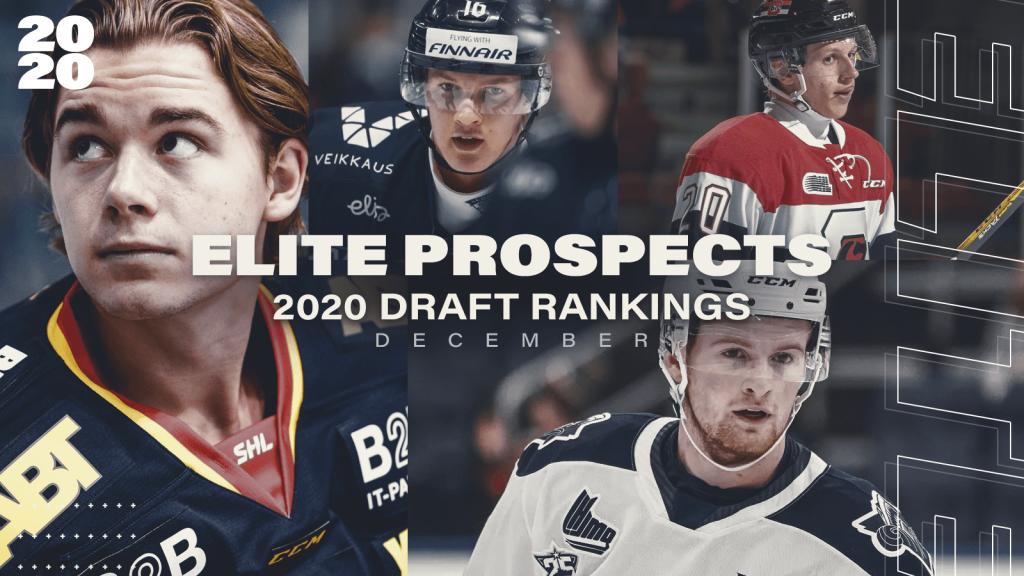 EXCLUSIVE: EliteProspects 2020 NHL Entry Draft Ranking Version 1.0