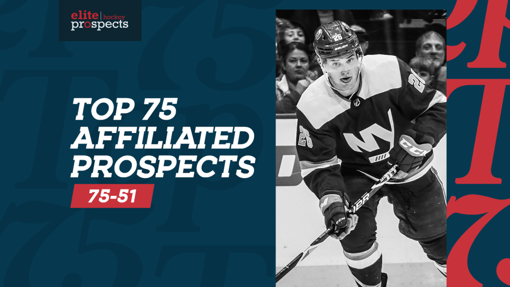 Ranking the NHL's Best Prospects, Skaters 75-51