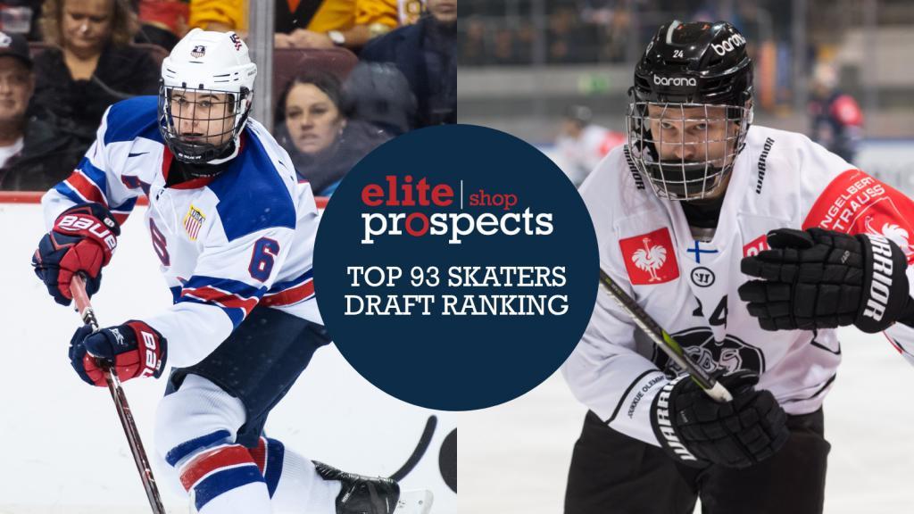 EXCLUSIVE: EliteProspects Top 93 Skaters 2019 NHL Draft Ranking