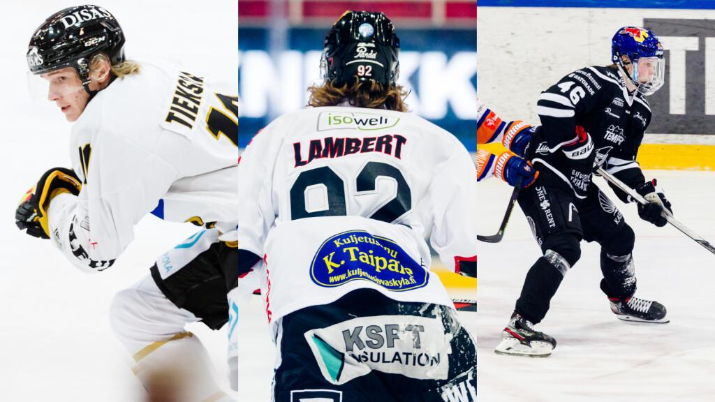 Liigan kiinnostavimmat nuoret lupaukset joukkue joukkueelta: Pärssinen ja Nousiainen pyrkivät sarjan ykköspelaajiksi, Lambert lähtee jahtaamaan kärkivarausta
