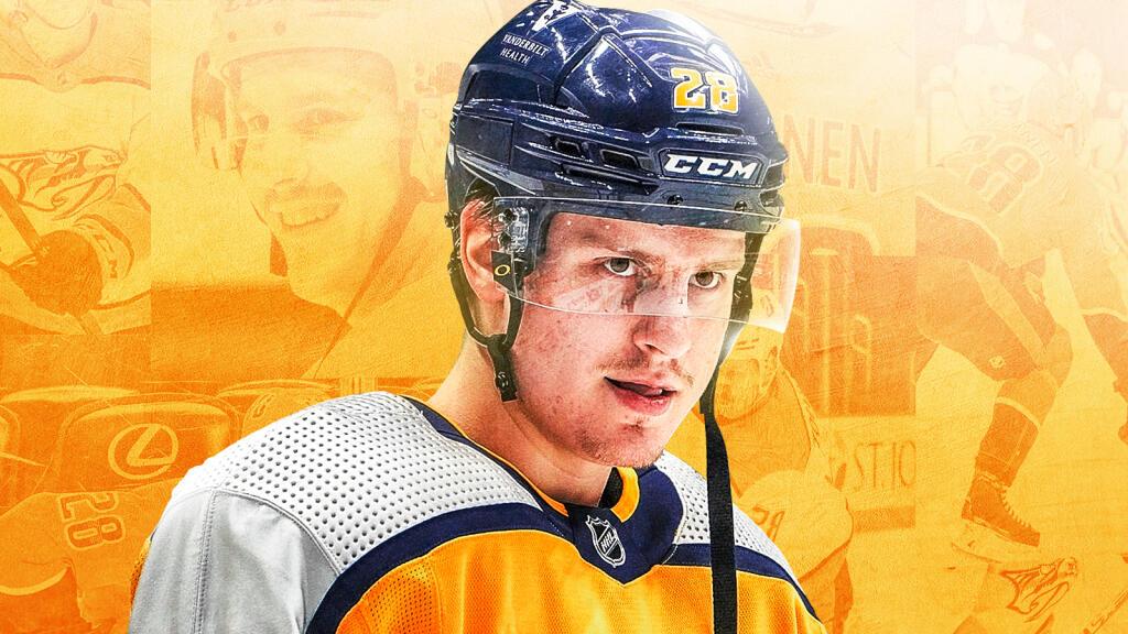 KHL-komeetasta vaikeuksien kautta Nashville Predatorsin syömähampaaksi – Eeli Tolvanen ylsi vihdoin NHL:ään, mutta maalit eivät kerro koko totuutta