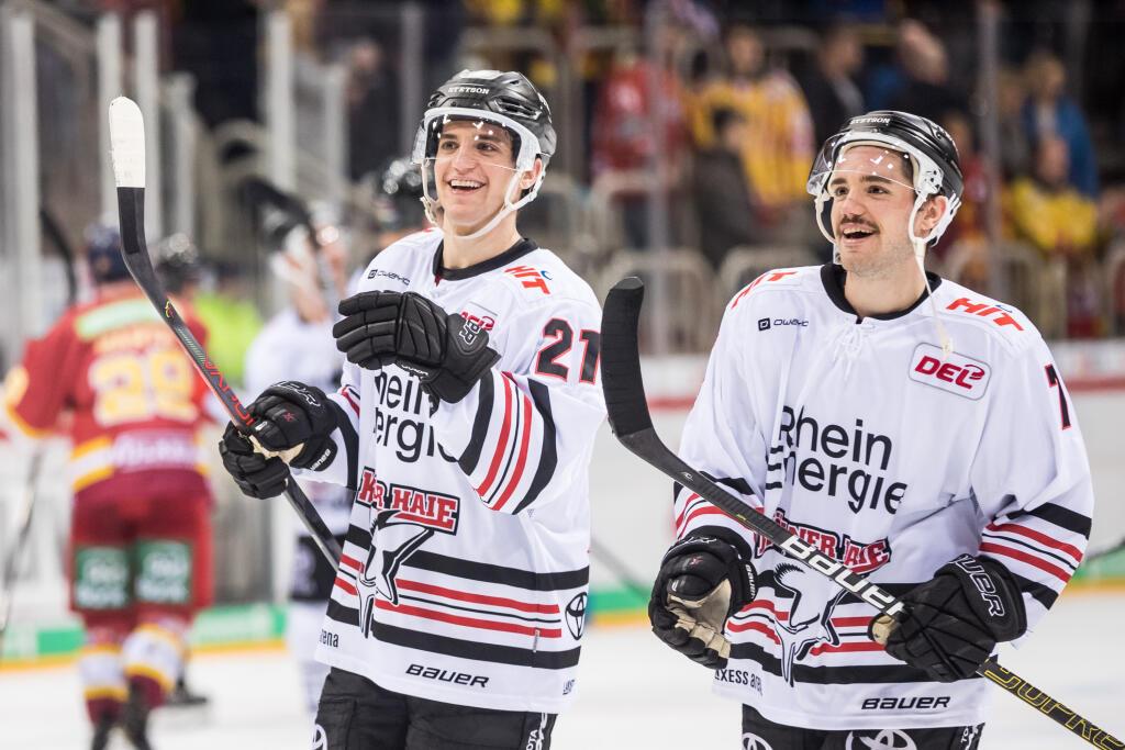 Frederik (li.) und Dominik Tiffels 2019