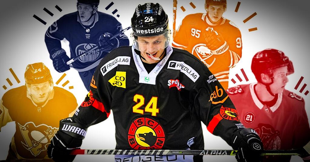 Dominik Kahun: Von der NHL in die Bärenhöhle