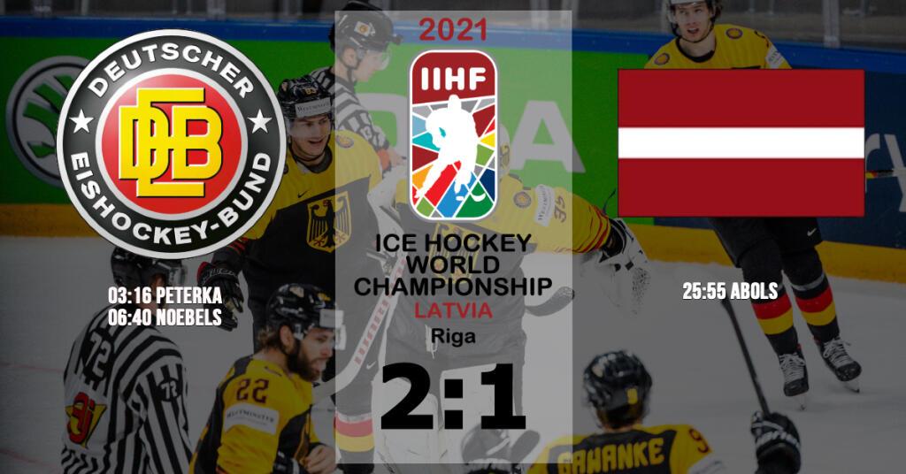 Krimi mit Happy End: Deutschland schlägt Lettland und steht im Viertelfinale